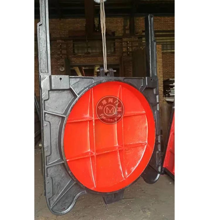 球墨铸铁暗杆式铸铁镶铜圆闸门/明杆铸铁闸门