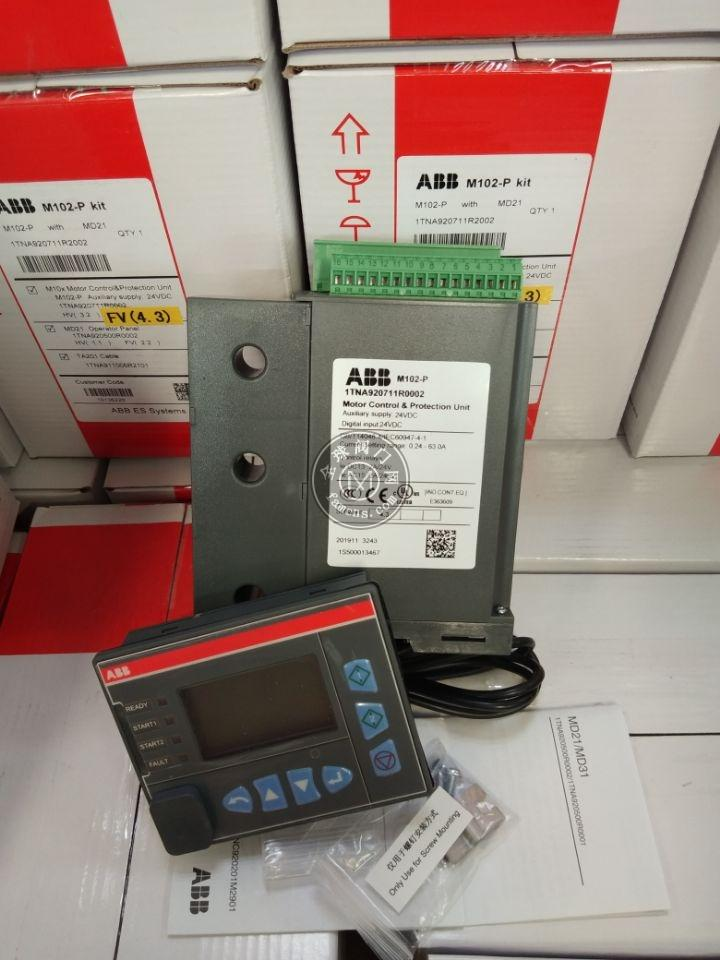 ABB马达保护器  M102-M,M102-P with MD21 24VDC