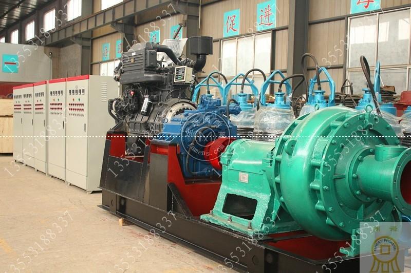卧式12寸抽沙泵产量_大功率12寸抽沙泵