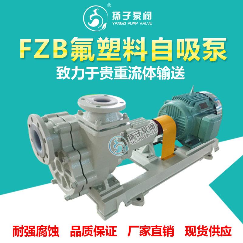 FZB型氟塑料自吸泵耐腐蚀自吸泵耐酸碱自吸泵