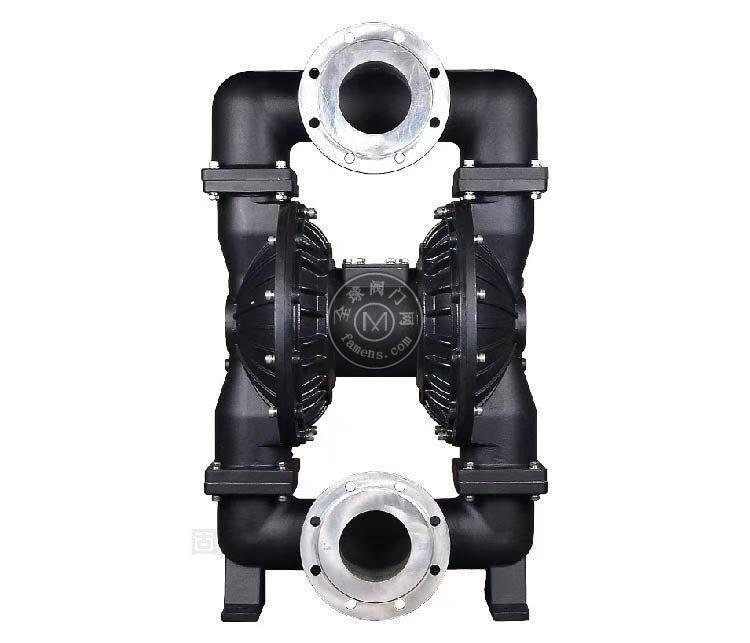 河南边锋固德牌第三代气动隔膜泵QBY3-125LFFF铝合金