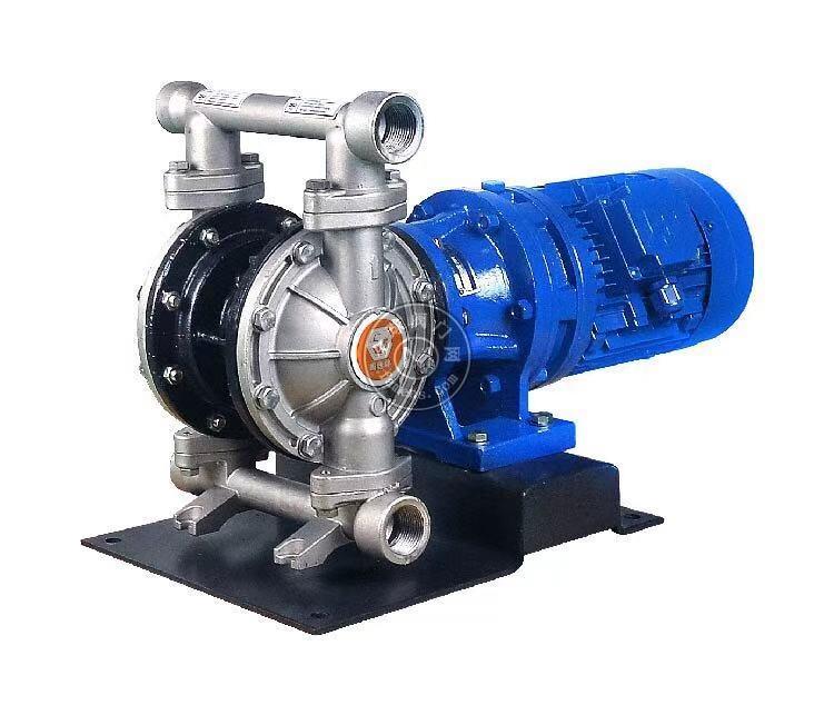 河南边锋固德牌第三代电动隔膜泵DBY3-10/15PFFF不锈钢