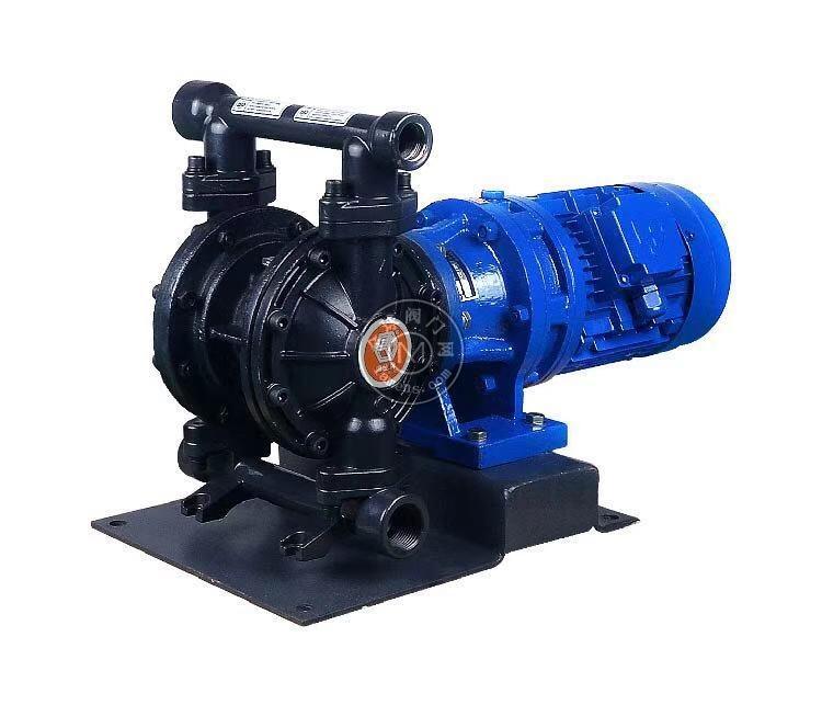 河南边锋固德牌第三代电动隔膜泵DBY3-10/15GFFF铸钢材质