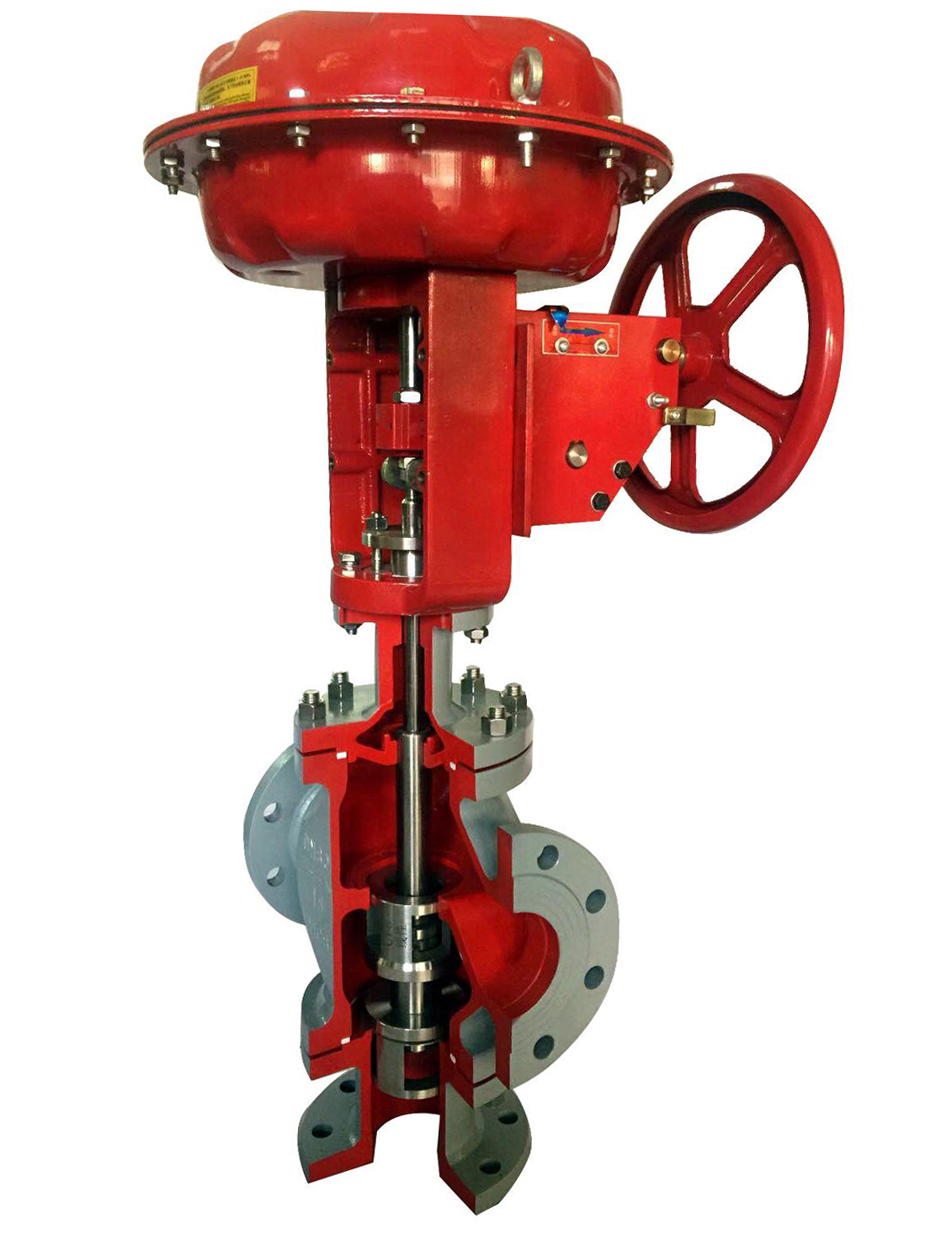 HMT/HDT Pneumatic Three-Way Control Valve