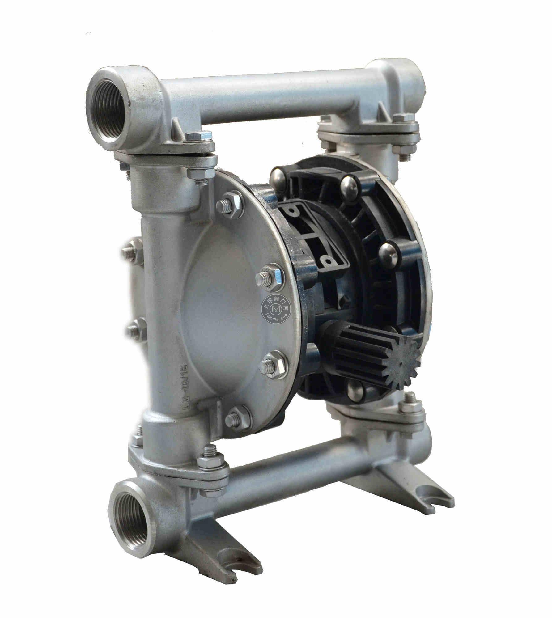 上海超凡QBY3-20G铸钢气动隔膜泵 加药泵