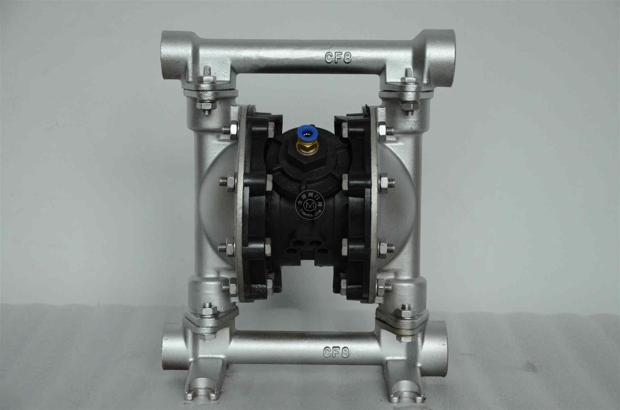 上海超凡QBY3-25G铸钢气动隔膜泵