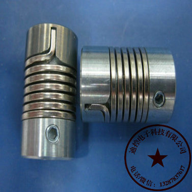 重庆市销售弹簧联轴器外径26长50 孔范围6-16可配