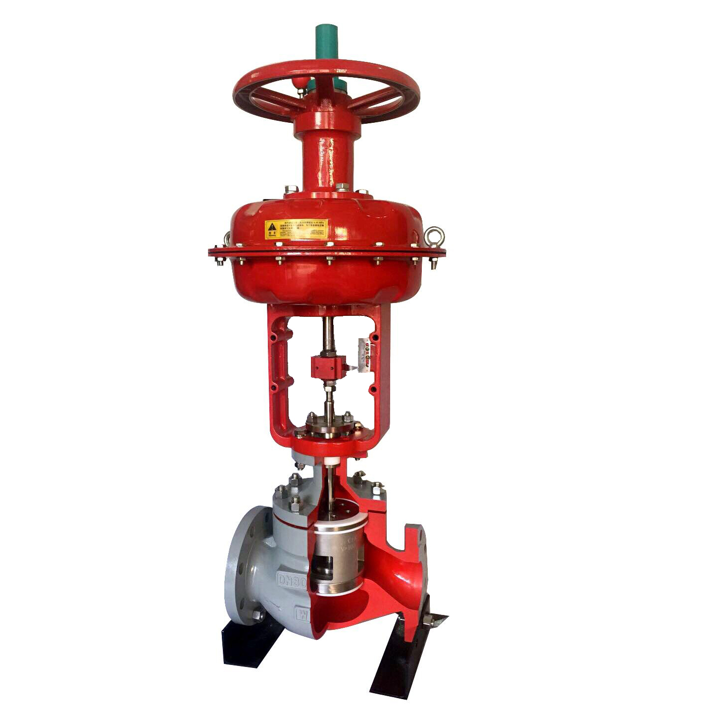HSC Pneumatic Single-Seated Cage Type Control Valve