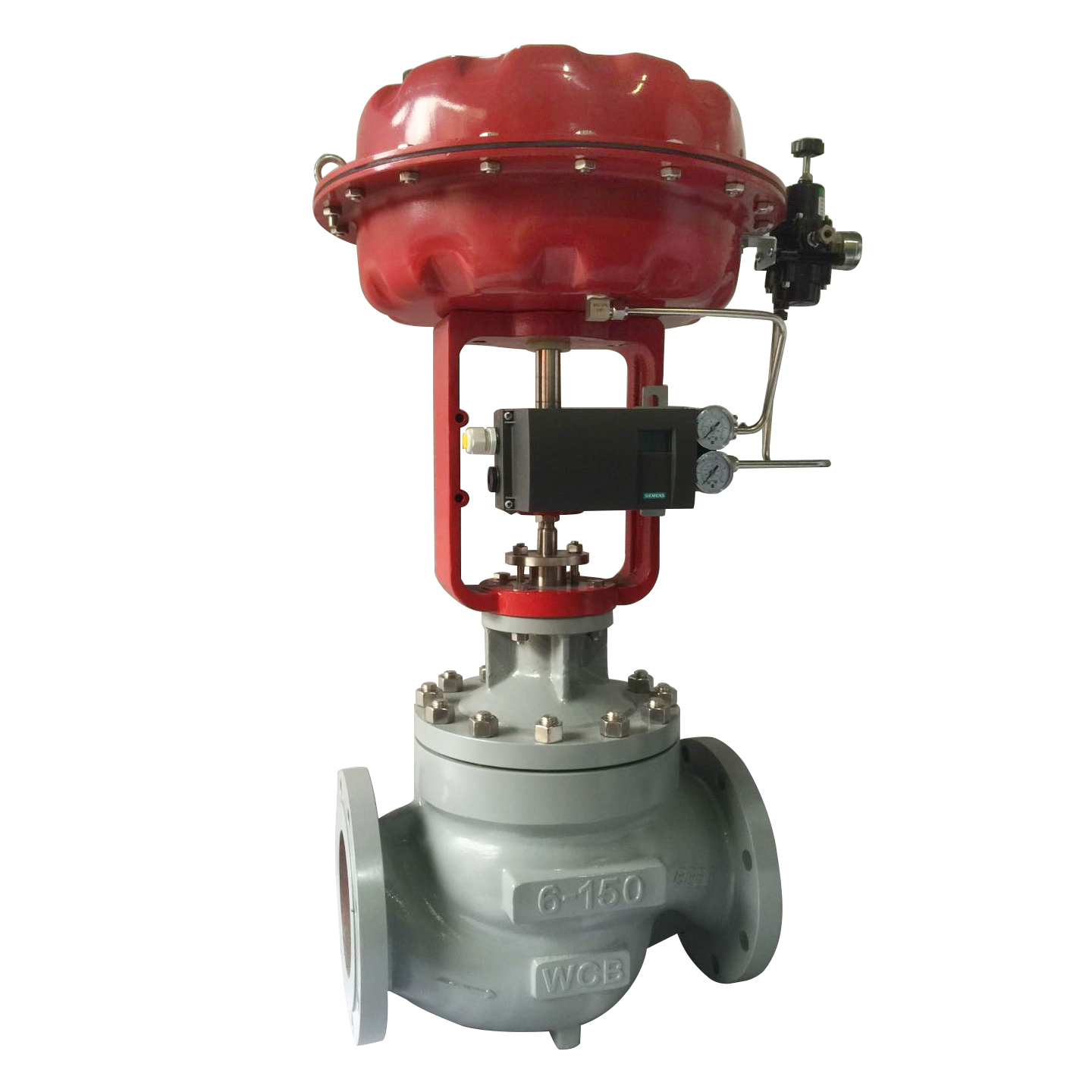 HCN Pneumatic Low-Noise Cage Type Control Valve