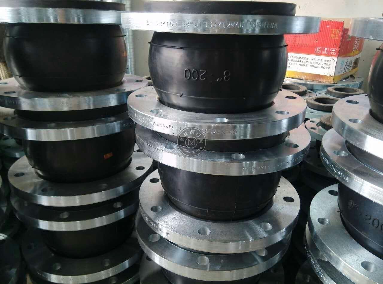 供应巩义万洋优质WTX型可曲挠橡胶弯头