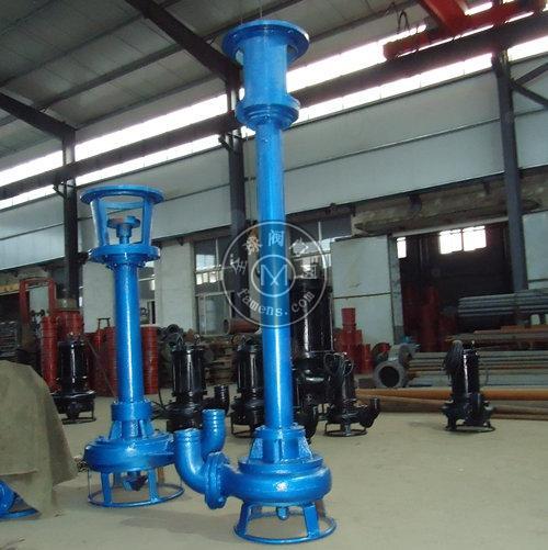 HS L型耐磨立式排砂泵