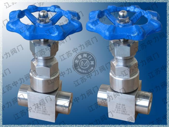 不銹鋼高壓承插焊閘閥