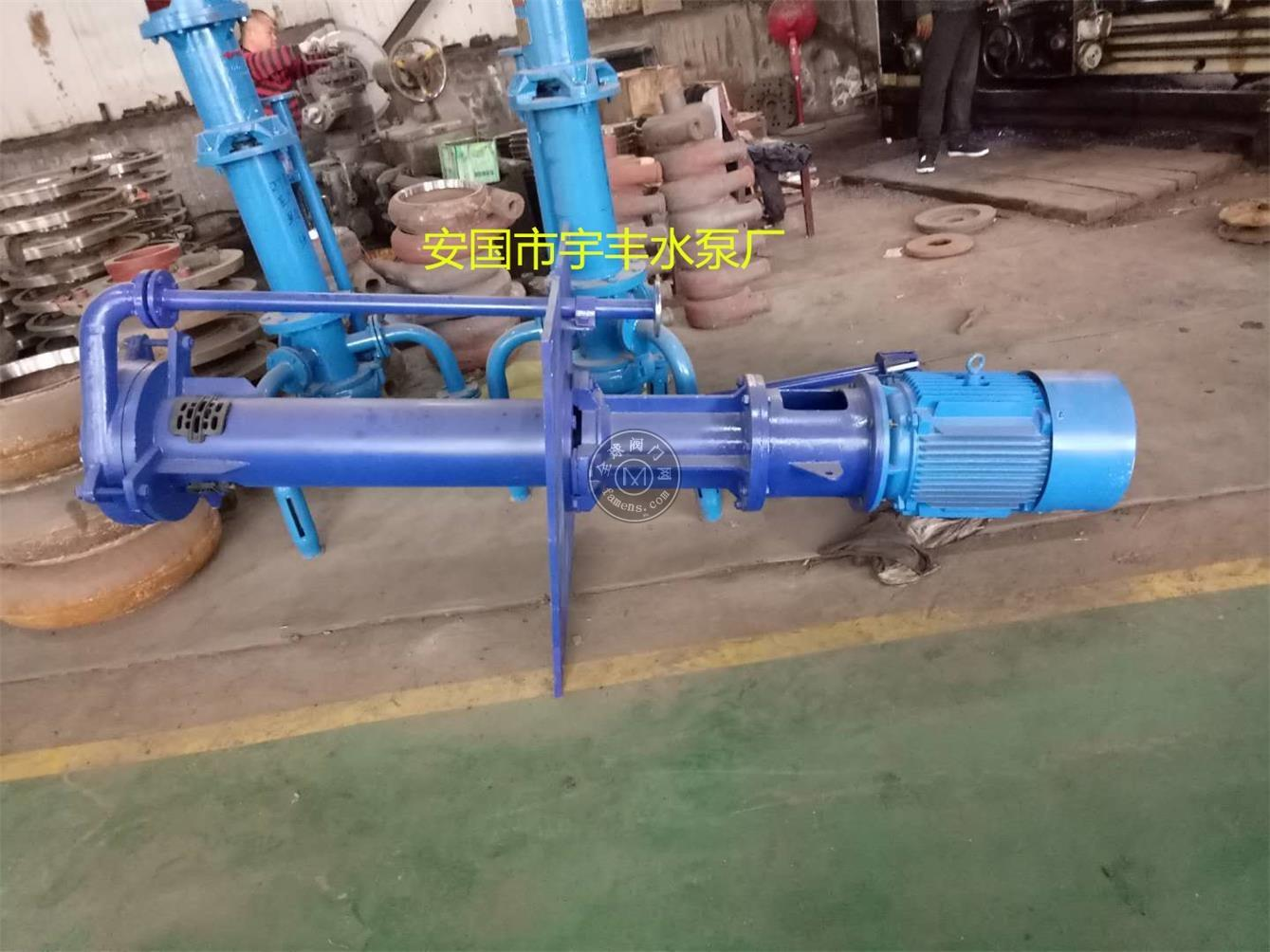 ZJL立式渣浆泵液下排污泵耐磨抽沙泵颗粒泵煤泥泵