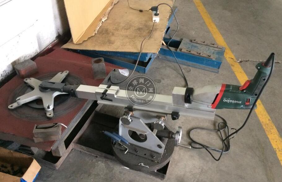M-200型閥門便攜式研磨機閥門在線修復