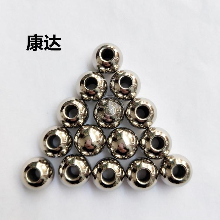 供應16mm閥門球 打孔攻牙鋼球 碳鋼鋼珠