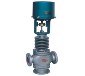 ZDLX型电子式电动三通分流调节阀