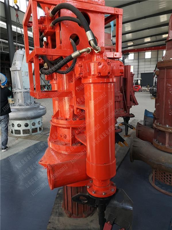 港口堤坝维护挖掘机泥沙泵 潜水液压吸沙泵