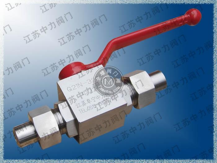 焊接式高壓不銹鋼天然氣球閥