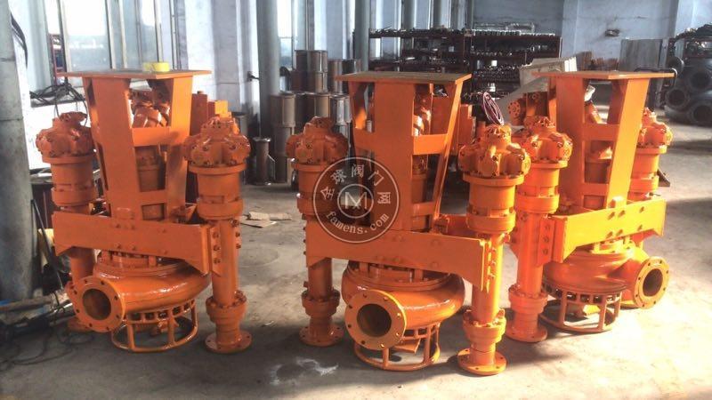 挖机安装抽沙泵,排沙泵,采砂泵