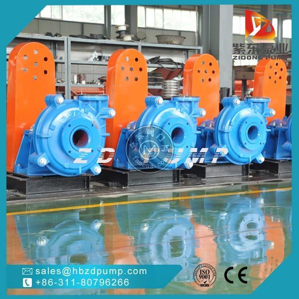 河北石家庄紫东泵业厂家直销耐磨合金渣浆泵,离心灰浆泵杂质泵