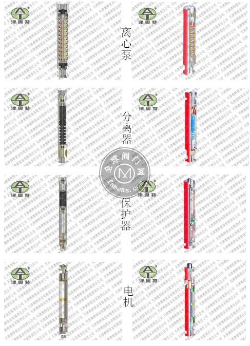 变频_温泉用_耐高温_潜油电泵