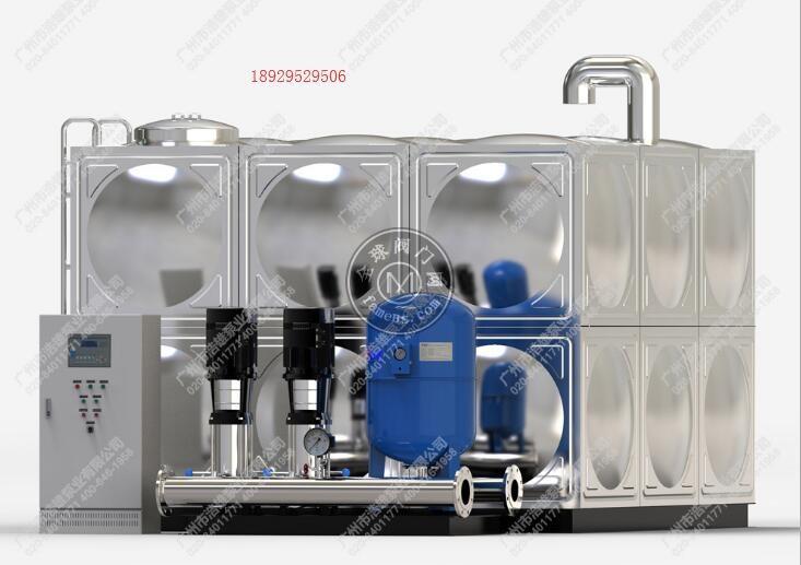 广州BWS箱式变频恒压供水设备_全自动增压泵