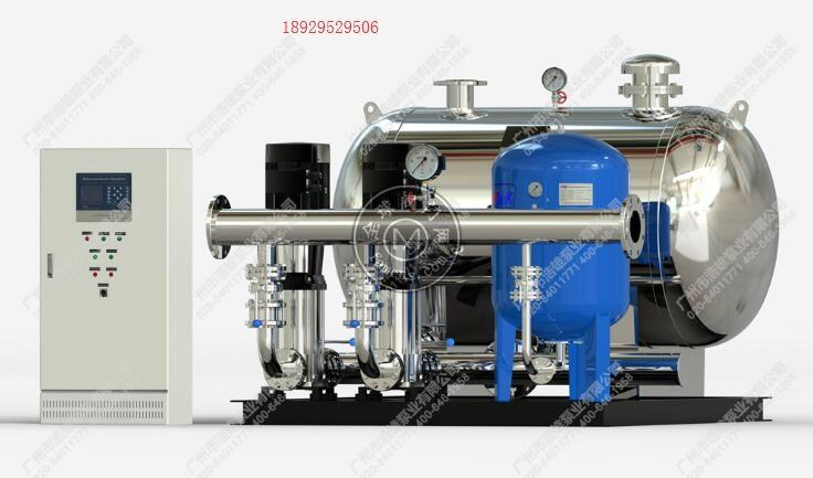 恒压变频水泵_DWS罐式无负压变频供水设备