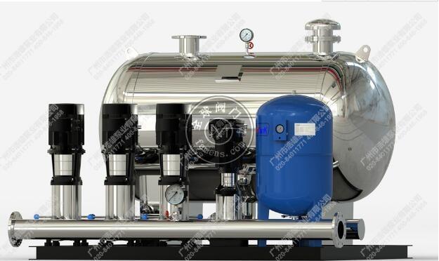 广州ECM卧式变频恒压供水设备_全自动自来水增压泵