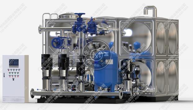 廣州XWS箱式無負壓供水設備_恒壓變頻水泵