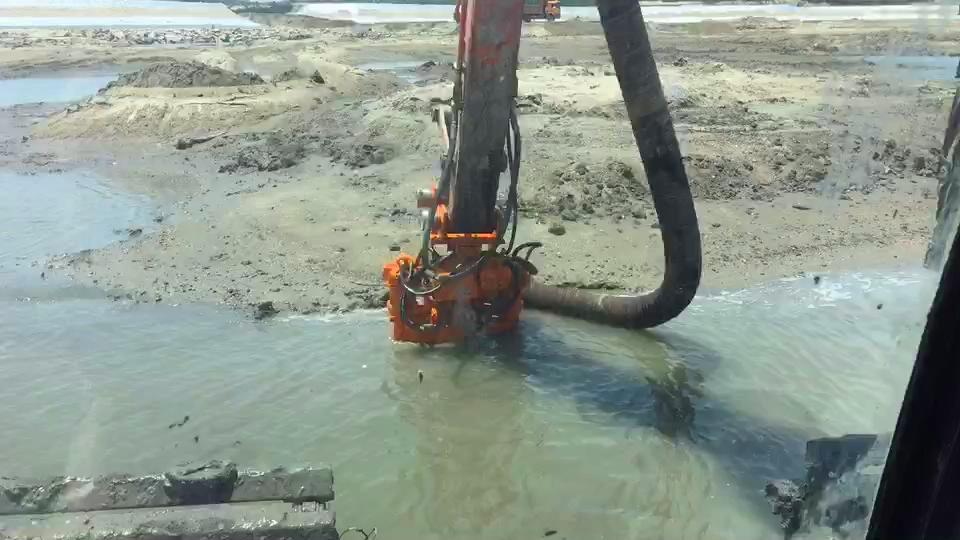 KSY挖掘机耐磨采沙泵