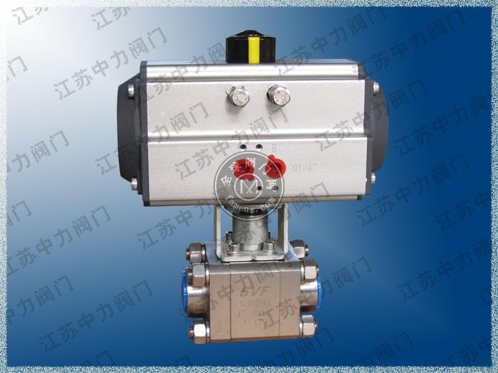 Q661N-320P气动高压球阀
