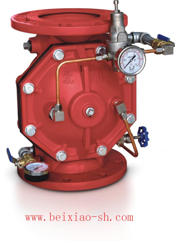 北京北消HC200X可调式减压阀消防证书