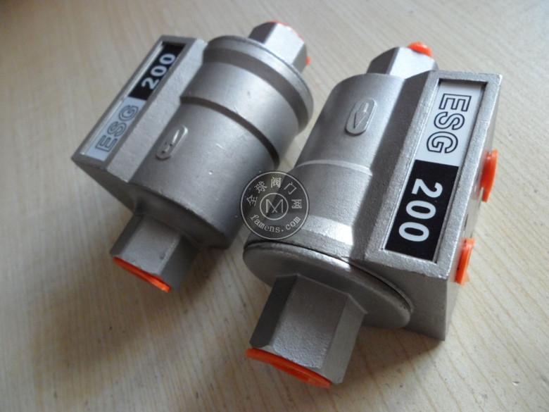 ESG200氣動梭閥DN10 PN16