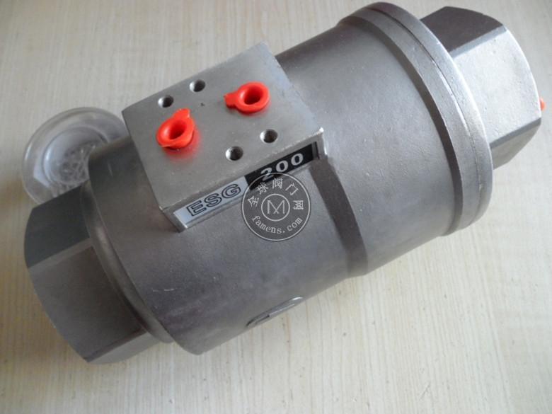 ESG200單向閥DN50 PN16脫硫脫硝除塵閥
