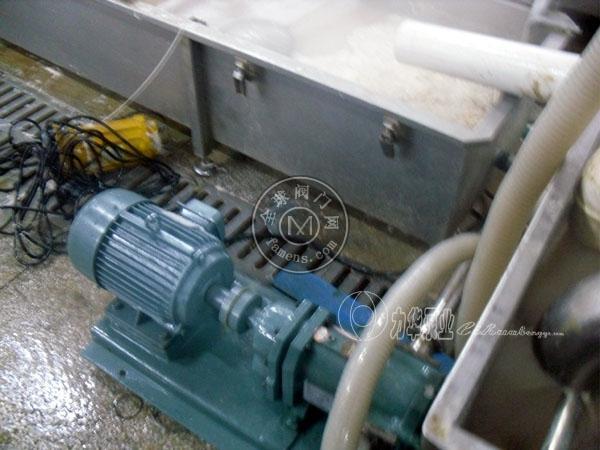 力华卫生不锈钢食品泵-高粘度泵浆料泵