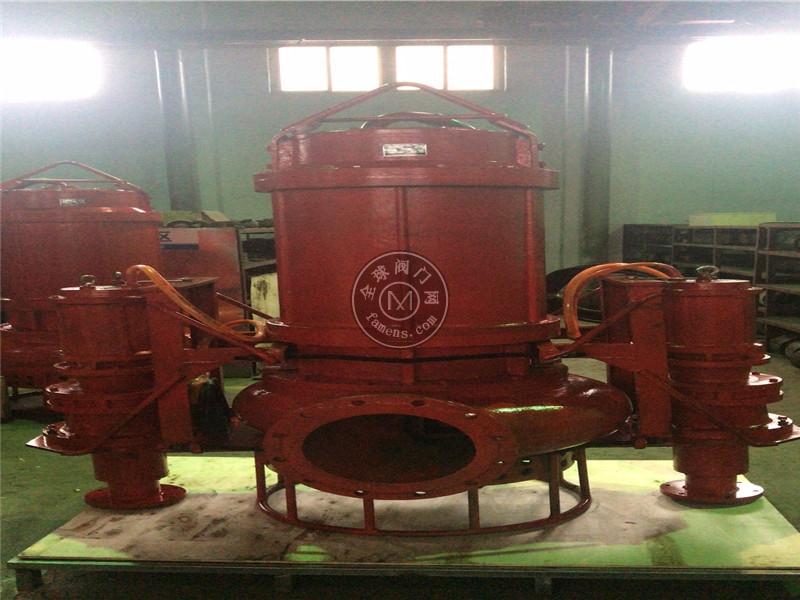 PSQ安装铰刀潜水矿砂泵 耐磨泥沙泵