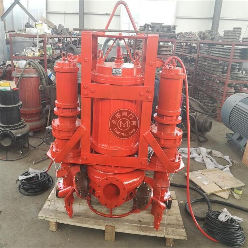 山東潛水抽沙泵廠家 安裝鉸刀渣漿泵