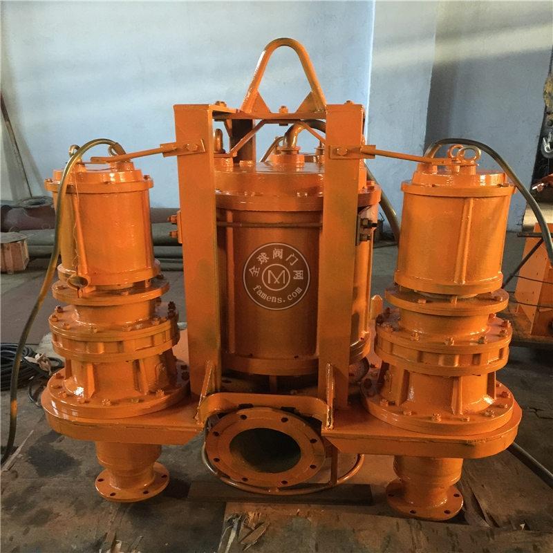 帶攪拌沉井使用潛水吸沙泵