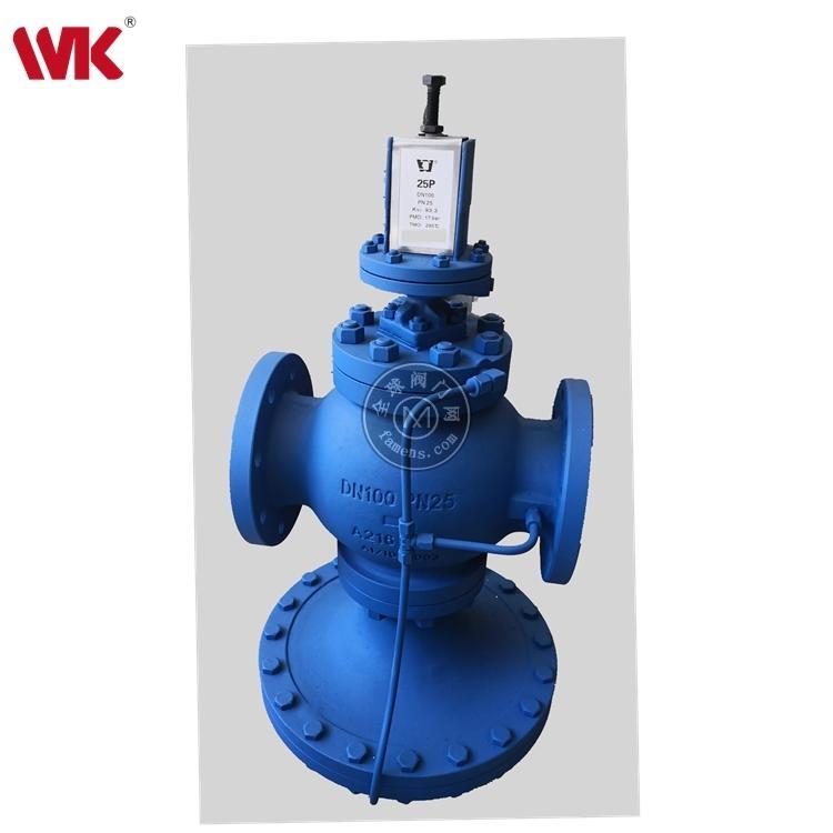 玮控导阀型隔膜式减压阀厂家 蒸汽空气系统隔膜式减压阀Y25P