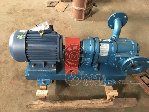 力華超濃稠污泥泵-高壓力濃漿泵