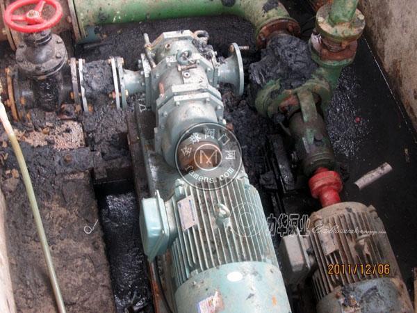 力華超濃稠污泥泵-粘稠污泥泵