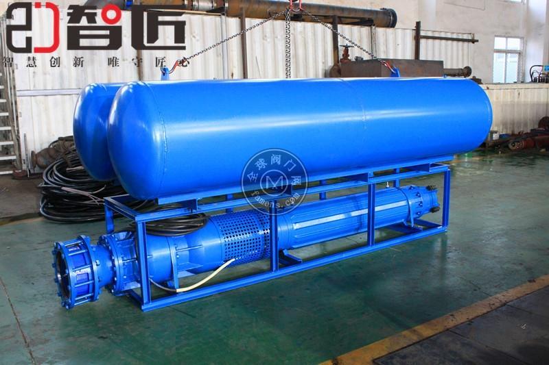 浮筒式潛水泵