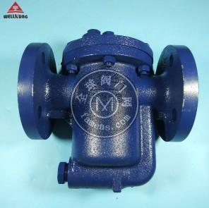 玮控倒桶式蒸汽疏水阀991法兰992蒸汽倒置桶式疏水器993