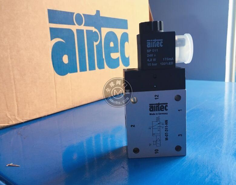 代理德國Airtec的NAMUR電磁閥