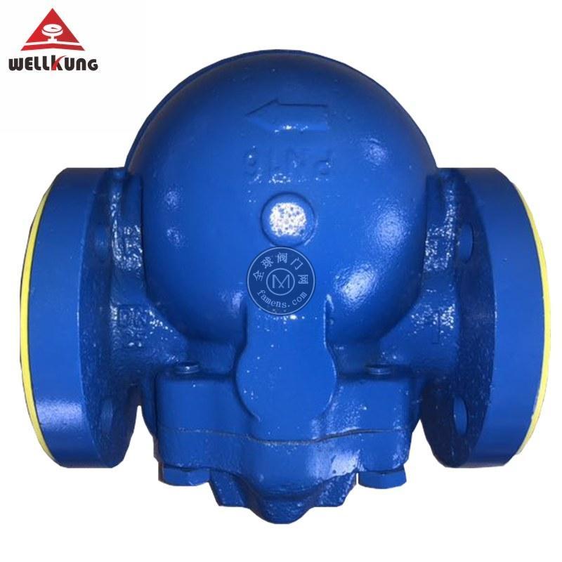 玮控杠杆浮球蒸汽疏水阀 FT44H铸钢斯派莎克疏水阀 印染机械