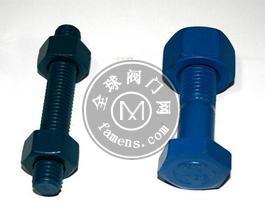 生产镀特氟龙螺栓 特氟龙涂层螺栓厂家