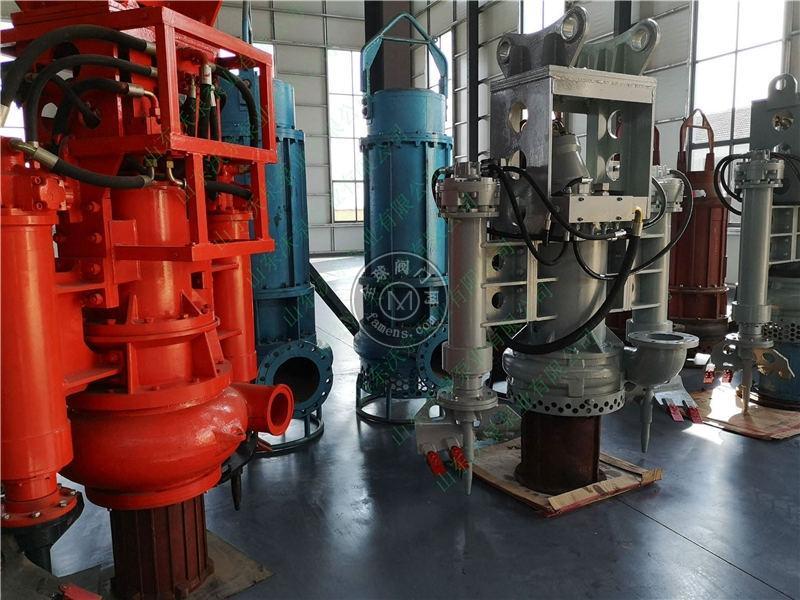 液压清淤泵 挖掘机抽沙泵 耐磨清淤泵