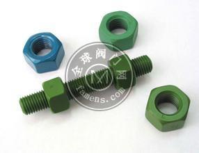 供應鍍PTFE螺栓 GALV鍍鋅+PTFE涂層螺栓