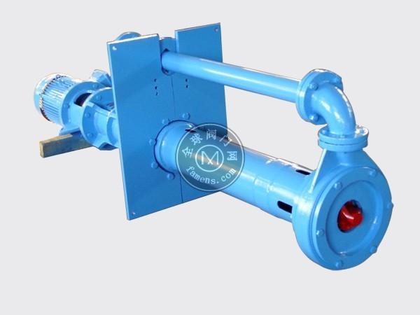 山東佰騰飛濟南YZ液下渣漿泵廠家立式長軸液下泵 排污渣漿泵