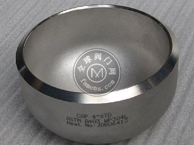 德威304不锈钢管路系统管帽配件
